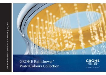GROHE Rainshower® WaterColours Collection