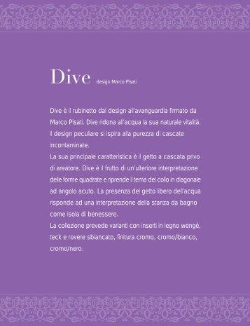 Dive è il rubinetto dal design all'avanguardia firmato da Marco Pisati ...