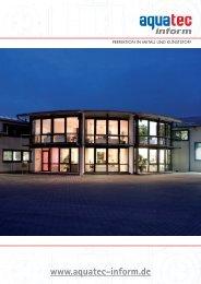 METALLTECHNIK - aquatec inform GmbH
