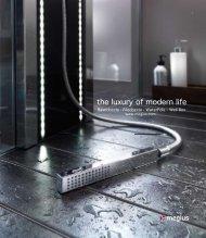 the luxury of modern life