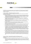 Conditions of Carriage - Postbus - Page 2