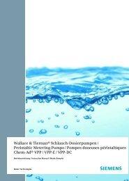 Peristaltic Metering Pumps Chem-Ad