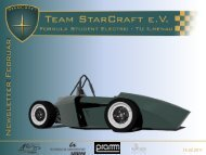 Newsletter Februar 2011 - Team StarCraft