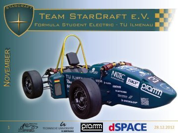 Newsletter November 2012 - Team StarCraft