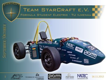 Newsletter September & Oktober 2012 - Team StarCraft