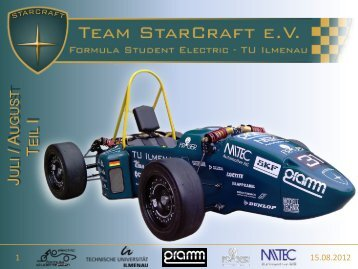 Newsletter Juli & August 2012 - Team StarCraft