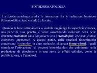 fotodermatiti e dermatosi cronica attinica 2012 - Corso di laurea in ...