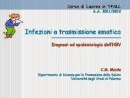 3. HBV - Corso di laurea in tecniche della prevenzione nell'ambiente ...