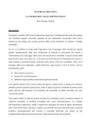 LA FILIERA DELL'ALLEVAMENTO ITTICO - Corso di laurea in ...