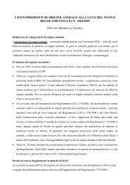 materiale didattico – i SOA - Corso di laurea in tecniche della ...