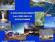 tutela delle acque e gestione delle risorse idriche - Corso di laurea ...