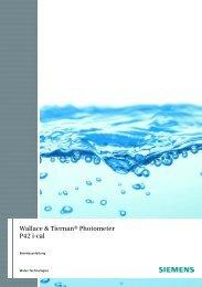 Wallace & Tiernan® Photometer P42 i-cal