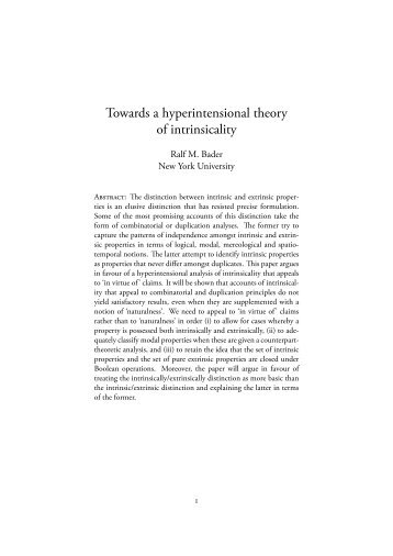 towards a hyperintensional theory of intrinsicality.pdf - Ted Sider