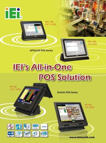 IEI's All-in-One POS Solution - Tempel CMS (Beta!)