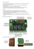 Telecomanda pentru automatizari - AP 1784 - Telecomenzi shop - Page 2