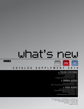 What's New - Telos