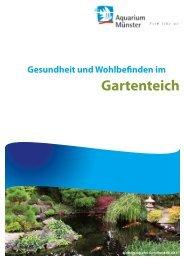 Gesundheit und Wohlbefinden im Gartenteich - aQua united GmbH