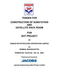 tender for construction of substation and satellite rack room for dht ...