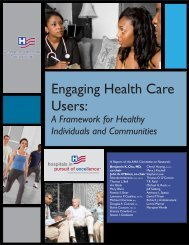 Engaging Health Care Users: - Texas TriCities