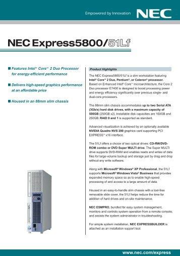 DRIVERS NEC VL260 TÉLÉCHARGER POWERMATE