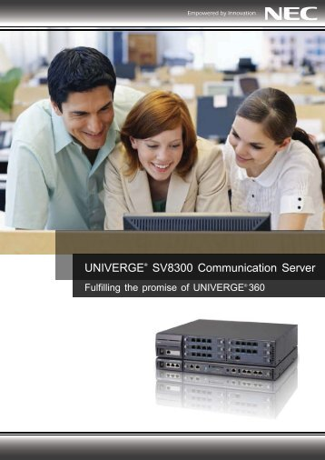 univerge sv8300 - NEC Corporation (Thailand)