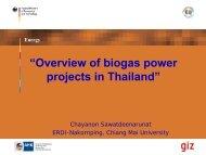 Biogas in livestock farms