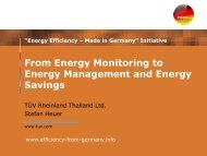 From Energy Monitoring to Energy Management and Energy Savings