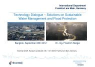 Technology Dialogue – Solutions on Sustainable Water ...