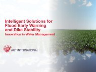 Intelligent Solutions for Dike Stability and Flood Early Warning (logo ...