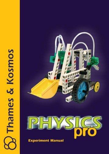 Experiment Manual Sample Pages (PDF) - Thames & Kosmos