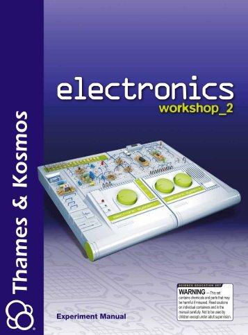 615611 Electronics Workshop 2 Manual - Thames & Kosmos