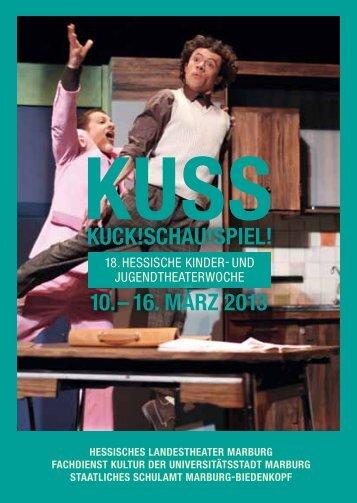 Kuss-Programmheft 2013 - Theater Marburg