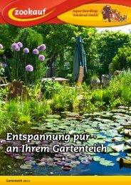 an Ihrem Gartenteich - Aqua-Zoo-Shop Weisbrod GmbH