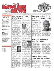 Nov 17 - The Bowling News