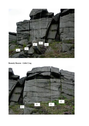 Beamsly Beacon – Little Crag - The Leeds Wall
