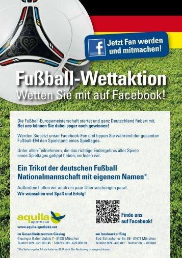 Fußball-Wettaktion - Aquila Apotheke