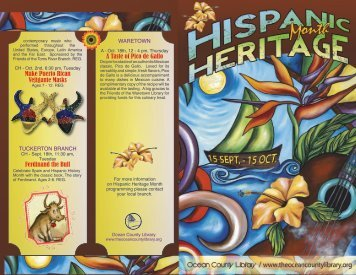 A Taste of Pico de Gallo Make Puerto - Ocean County Library