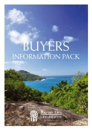 Buyers Information Pack - English - banyan tree