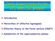 Color Superconductivity - Florence Theory Group