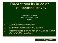 Astrophysical consequences of color superconductivity - Infn