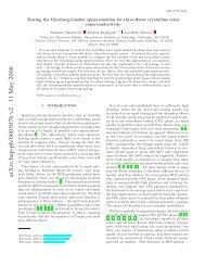 arXiv:hep-ph/0603076 v2 11 May 2006 - Florence Theory Group