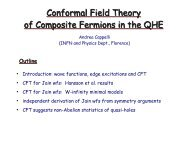 Conformal Field Theory of Composite Fermions in the QHE