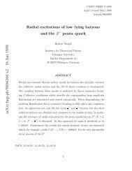 arXiv:hep-ph/9804260 v2 16 Jun 1998 - Florence Theory Group