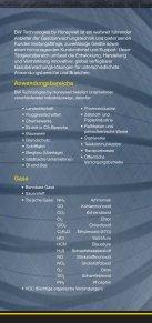 GASÜBERWACHUNG PRODUKTÜBERSICHT - THG-Brake - Seite 2