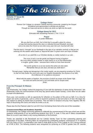 Volume 17 Issue 02 - Thomas Carr College