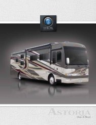 2012 Astoria Motorhome | Class A RV Sales ... - Thor Motor Coach