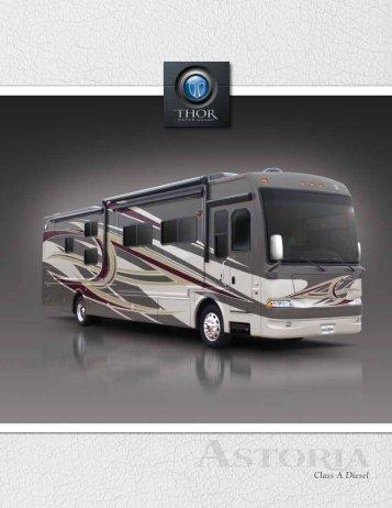 2012 Astoria Motorhome   Class A RV Sales ... - Thor Motor Coach