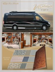 Four Winds International / Thor Motor Coach 2009 Sales Literature