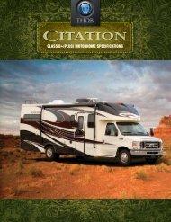 2012 Citation Motorhome   Class C RV Sales ... - Thor Motor Coach