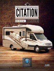 2013 Citation Motorhomes / Class C Diesel RV ... - Thor Motor Coach